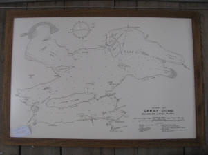 Great Pond Maine Map Great Pond Marina Boat Rentals Fuel And